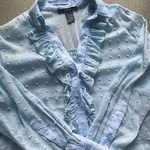 Like new - Rare - Smythe swiss dot shirt